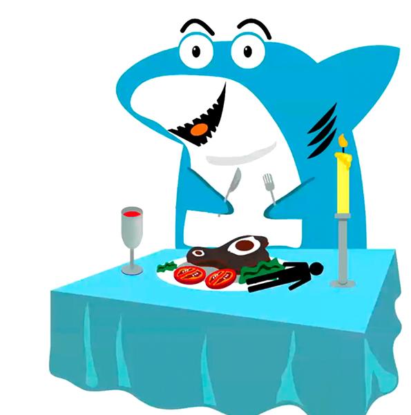 ห้องสมุดใต้ทะเล ตอน ฉลามไม่น่ากลัวอย่างที่คิด