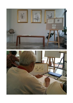 โครงการอบรมศิลปะนิทานภาพ ชีวิตและความตาย